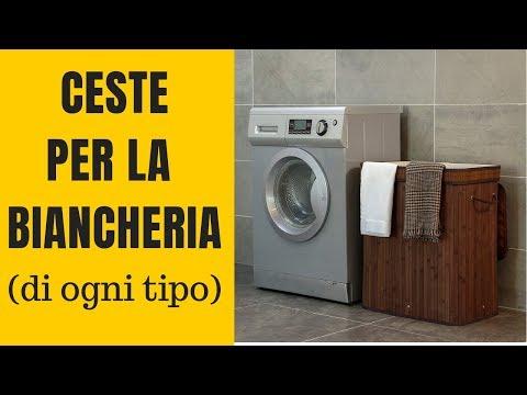 Ceste portabiancheria: eccellenti proposte per bagno e lavanderia!