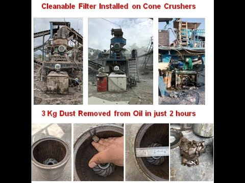Cone Crusher Oil Filtration System