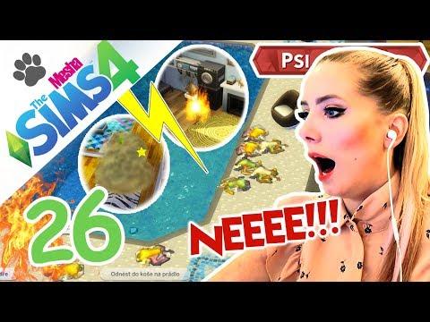PÁTEK TŘINÁCTÉHO - POKAZILO SE ÚPLNĚ VŠECHNO! Oživujeme Štěpánka ● The Sims 4 - Psi a Kočky 26