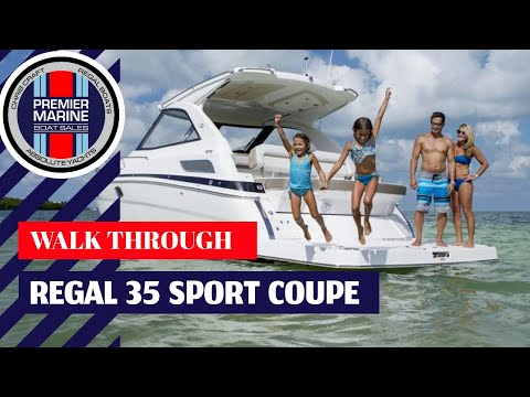 Regal 35 Sport Coupe video