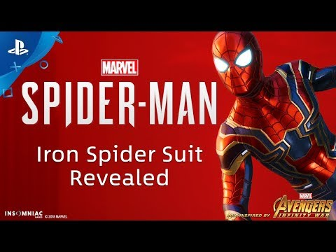 Marvel's Spider-Man - Iron Spider Suit Revealed | PS4 thumbnail