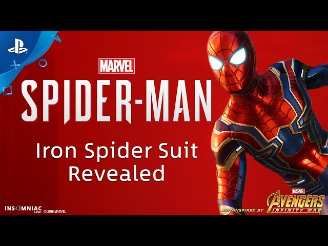 Iron Spider Suit For Spider Man Ps4 Pre Order Confirmed In Spidey
