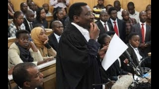 Drama in court as Lawyer James Orengo takes Prosecution Advocates in circles, and they aren't happy