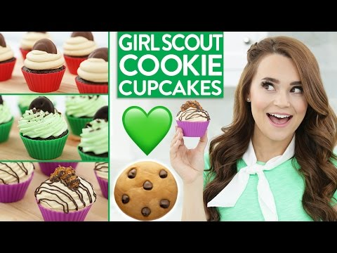 DIY Girl Scout Cookie CUPCAKES!