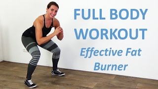 Full Body Workout for Women - 20 Minute Daily Exercise at Home for Women - No Equipment by FitnessType