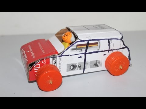 Arts and Crafts: How to Make a Rubber Band Powered Car