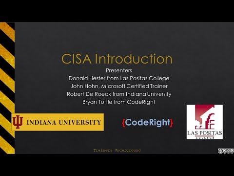 CISA Intro Part 1 - YouTube