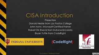 CISA Introduction