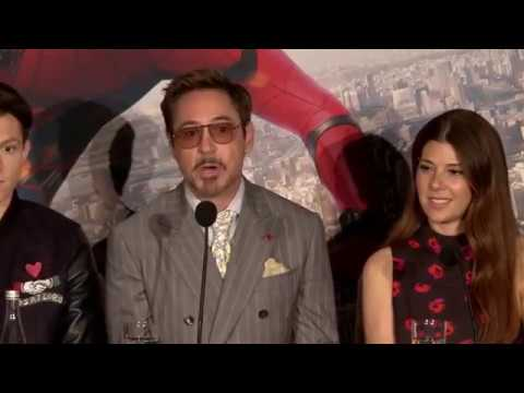Spider-Man: Homecoming | Live press conference