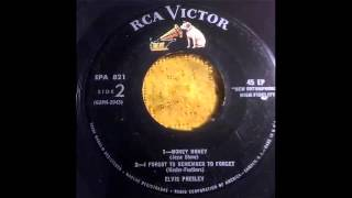 Elvis Presley - I Forgot To Remember To Forget 45 EP!