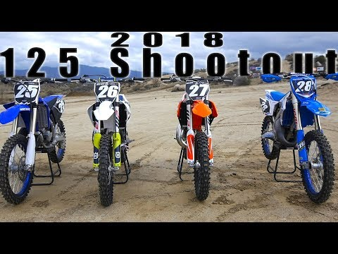 2018 125 2 Stroke Shootout – Dirt Bike Magazine