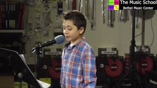 "Enzo sings ""Join The Circus"" by Coleman, Stewart, & Dansicker"