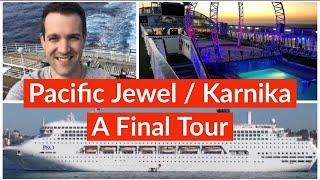 Pacific Jewel - Final Cruise 2019