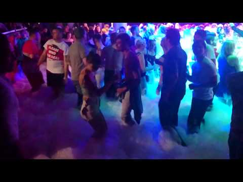 Foam Party at BCM Planet Dance Magaluf 18.09.2015