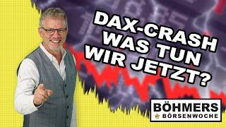 DAX-Crash – was tun?