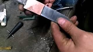 Изготовление больстера для  карачаевского ножа