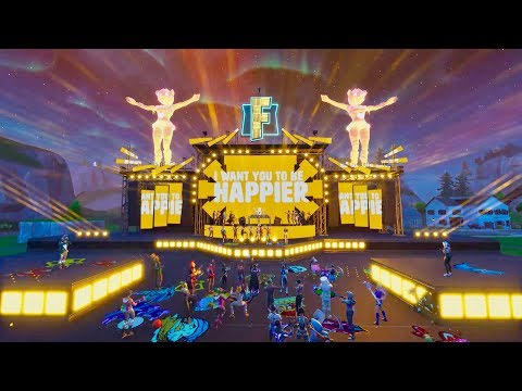 Marshmello ft. Bastille - Happier (Official Fortnite Music Video) (видео)