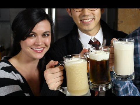 How to make BUTTERBEER from Harry Potter!