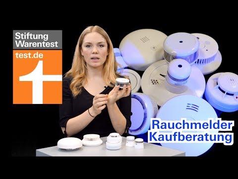Rauchmelder Kaufberatung: Ein Funkmelder + ein Smarthome-Gerät mangelhaft (Test Stiftung Warentest)