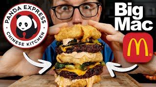 Josh Makes A Panda Express Big Mac