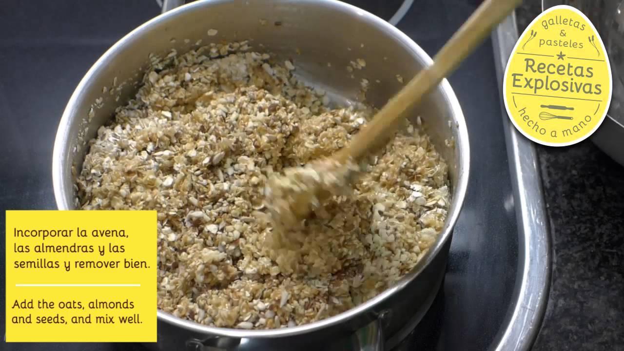 Barritas de Cereales o Energeticas - Recetas Explosivas