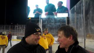Gophers Women's hockey coach Brad Frost on playing outdoor Hockey and his Epic winning streak