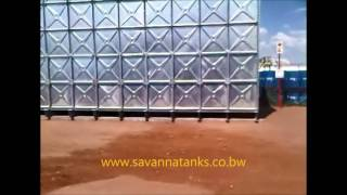 Hot Dipped Galvanized Tank - South Africa