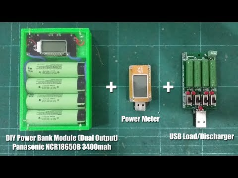 DIY Powerbank Module + Power Meter + Load Discharger - Banggood