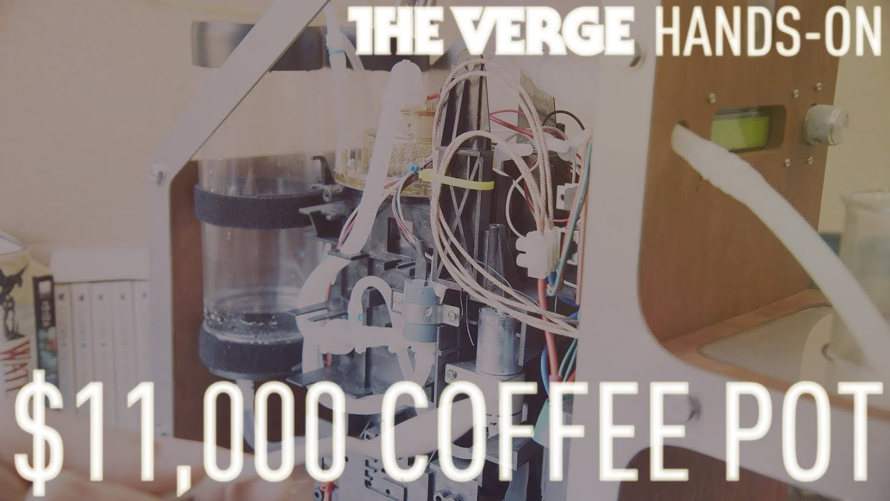 Hands-on with an $11,000 coffee pot thumbnail
