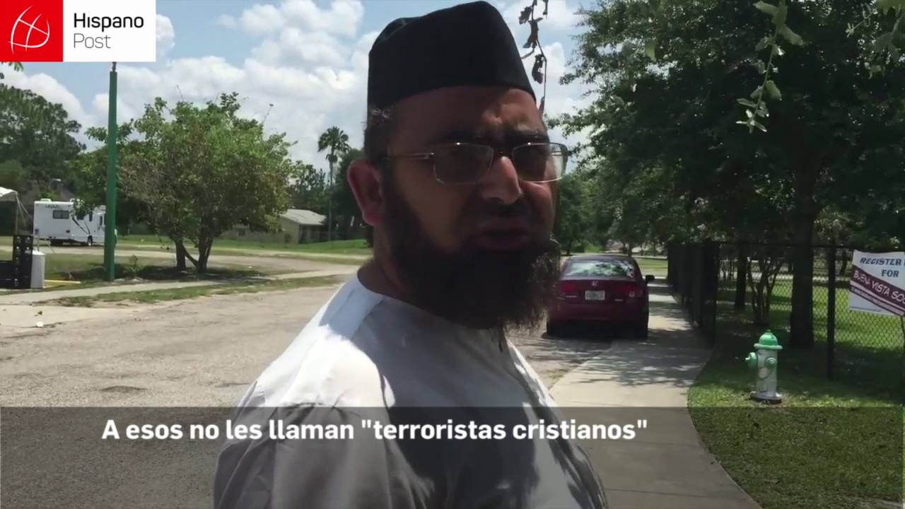 """""""Musulmán que asesina no es musulmán"""", dice Imán de Mezquita en Orlando"""