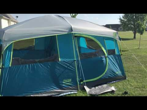 Coleman Tenaya Lake 8 Person Fast Pitch Cabin Tent Review