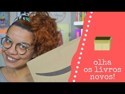 UNBOXING DE LIVROS AMAZON (SET/2019)