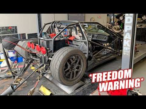 *New Dyno Record* on BARELY any Boost! Leroy Goes FULL FREEDOM MODE!