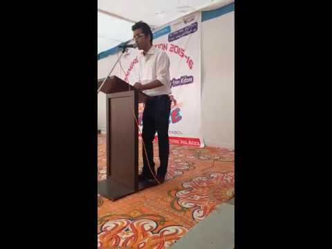 Introductory speech