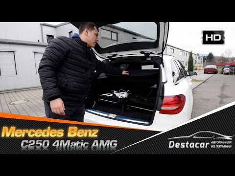 Mercedes Benz C250 4Matic AMG - тест-драйв