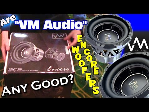 VM Audio Subwoofers Any Good? EXO Review: Encore Series 12″ Subwoofer ECW120 / Cheap Car Sub