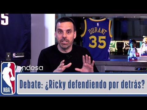 DEBATE: LA DEFENSA DE RICKY RUBIO A HARDEN