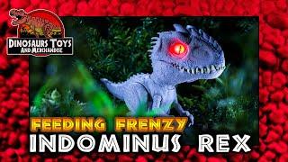 Jurassic World  Camp Cretaceous Feeding Frenzy Indominus  von Mattel Review Deutsch /German