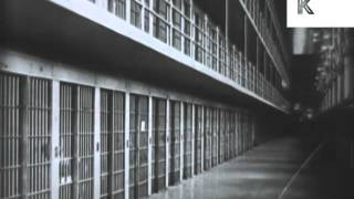 1930s, 1940s Al Capone Arrest, Imprisonment, Funeral, Archive Footage
