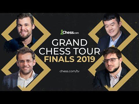LIVE: Grand Chess Tour Finals Day 5 - Hosts GM Hess and GM Naroditsky #grandchesstour