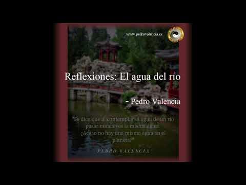 Reflexión y meditación: el agua del río