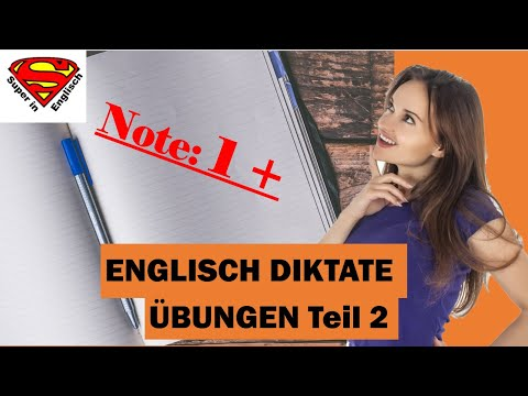 Super in Englisch - Englische Diktate üben 1