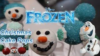 Disneys Frozen 2 Themed Cake Pops | Christmas Cake Pops