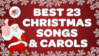 BEST 23 CHRISTMAS SONGS & CAROLS | Greatest Xmas Songs & Carols | Sing Along Christmas Lyrics