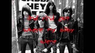 The KKK Took My Baby Away - Ramones Acoustic Cover [Lyric Video]