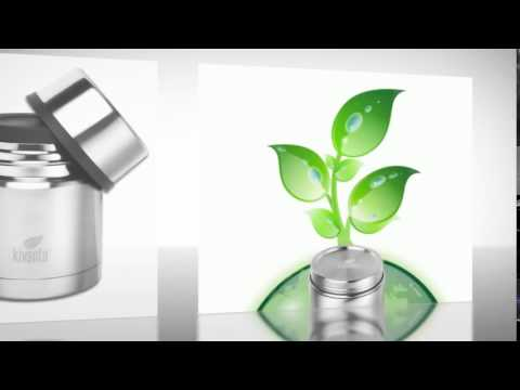 Edelstahl Isolierbehälter 350 ml mit Becher