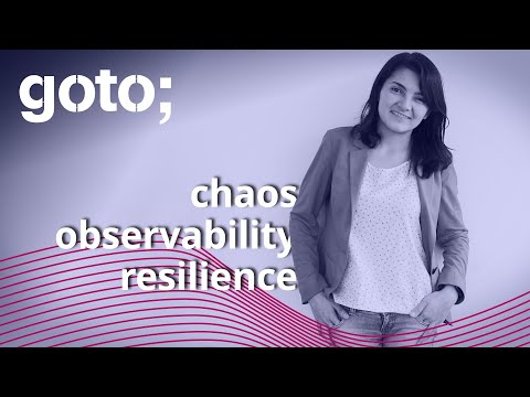 Image thumbnail for talk Combining Chaos, Observability & Resilience to get Chaos Engineering
