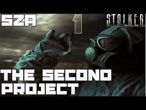 Stalker SZA: The Second Project Прохождение - Часть#1[Милитари и Неизвестный Бункер]