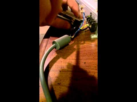 Wiring an amp in your house with a Xbox power bloc
