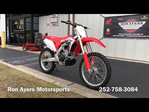 2018 Honda CRF250R in Greenville, North Carolina - Video 1